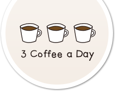 3 Coffee a Day