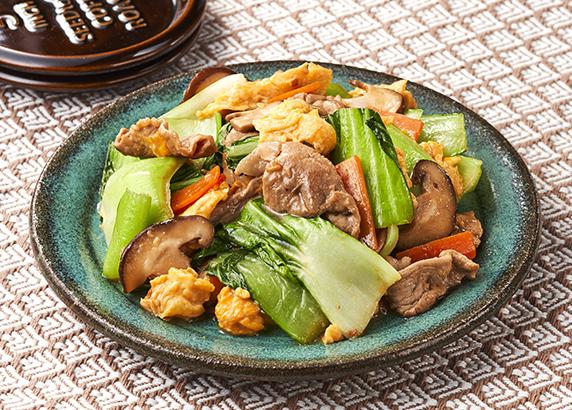 菜 レシピ 豚肉 チンゲン