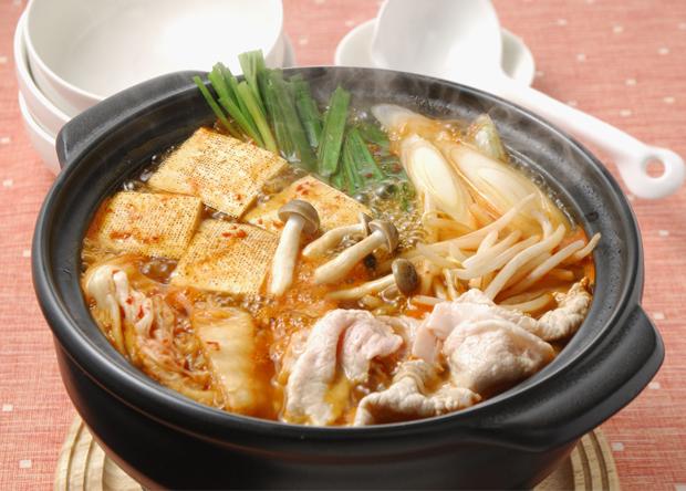 簡単 豚キムチ鍋