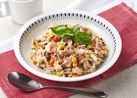 洋風 炊き込み ご飯 超絶美味い、牛蒡とベーコンの洋風炊き込みご飯は食べるべき