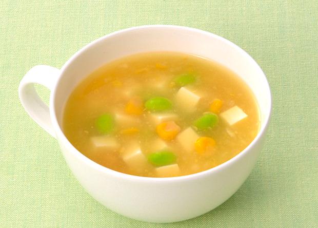スープ レシピ コーン