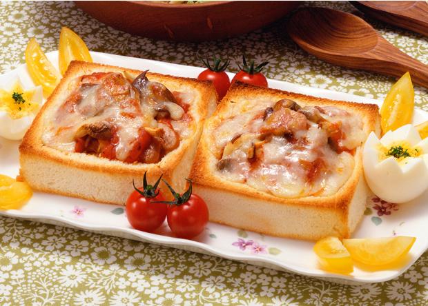 レシピ ピザ トースト
